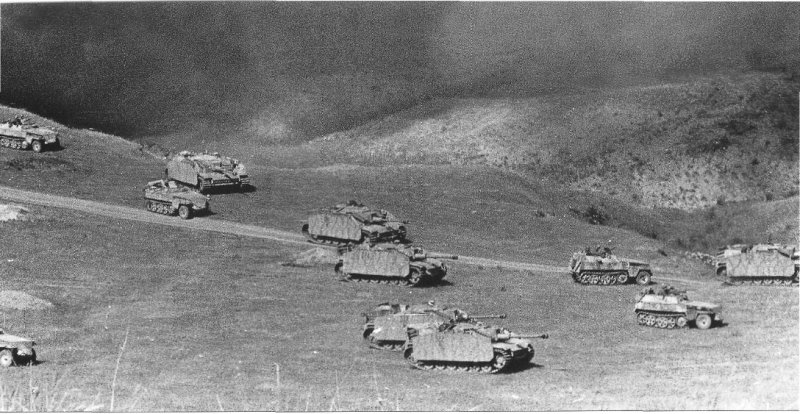 The last of the great tank battle?  Kursk, 1943.