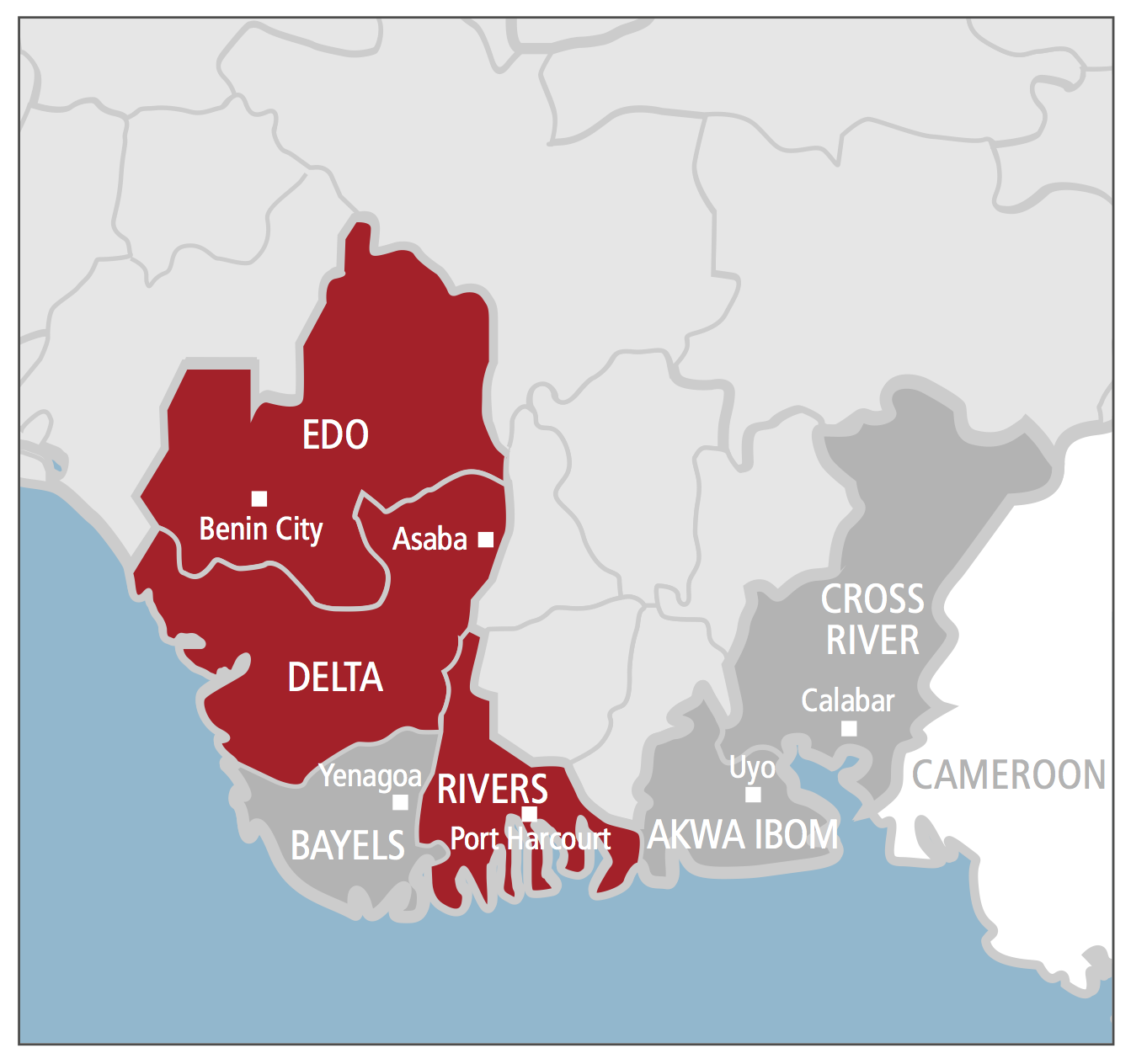 map of delta state nigeria with The Violent Road Nigeria South South on Anambra Zip Code besides Nigerian State Governors together with Free Nigeria Maps likewise Delta State Zip Code further Delta Plaza Hotel Delta.