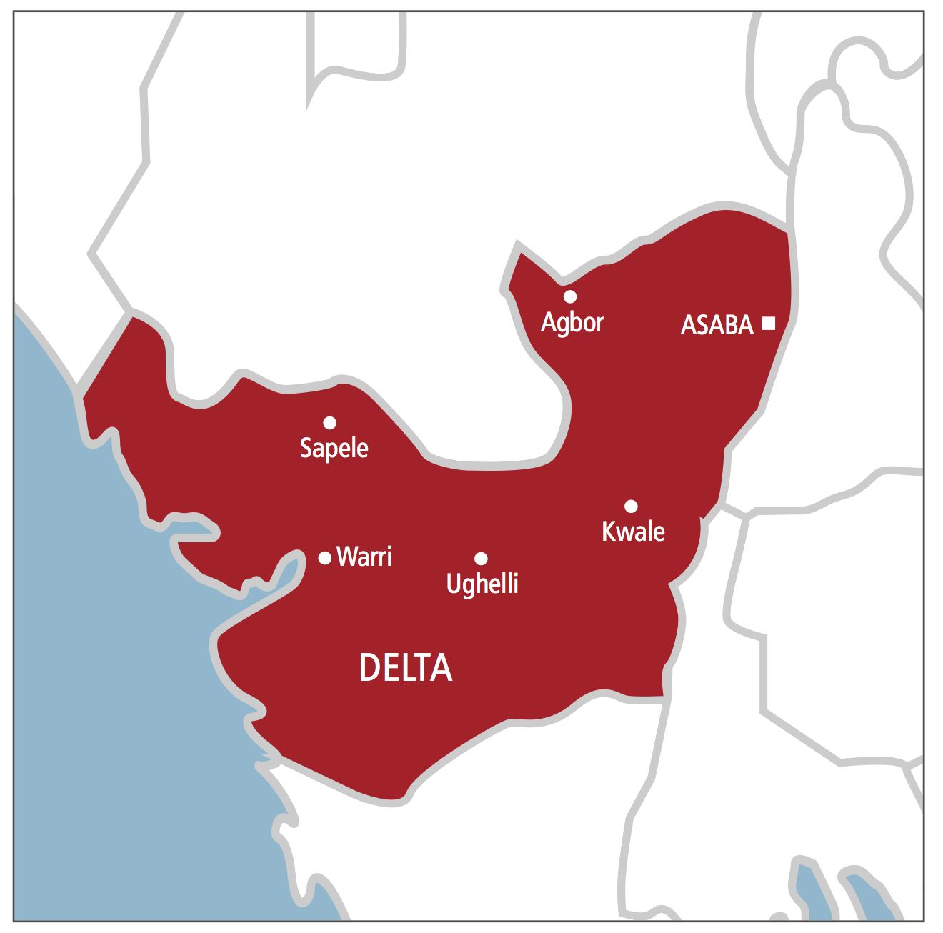 ogun state map with The Violent Road Nigeria South South on 3 furthermore Yobe State Zip Code Map besides Figs also The Violent Road Nigeria South East furthermore 2 6401346 49592.