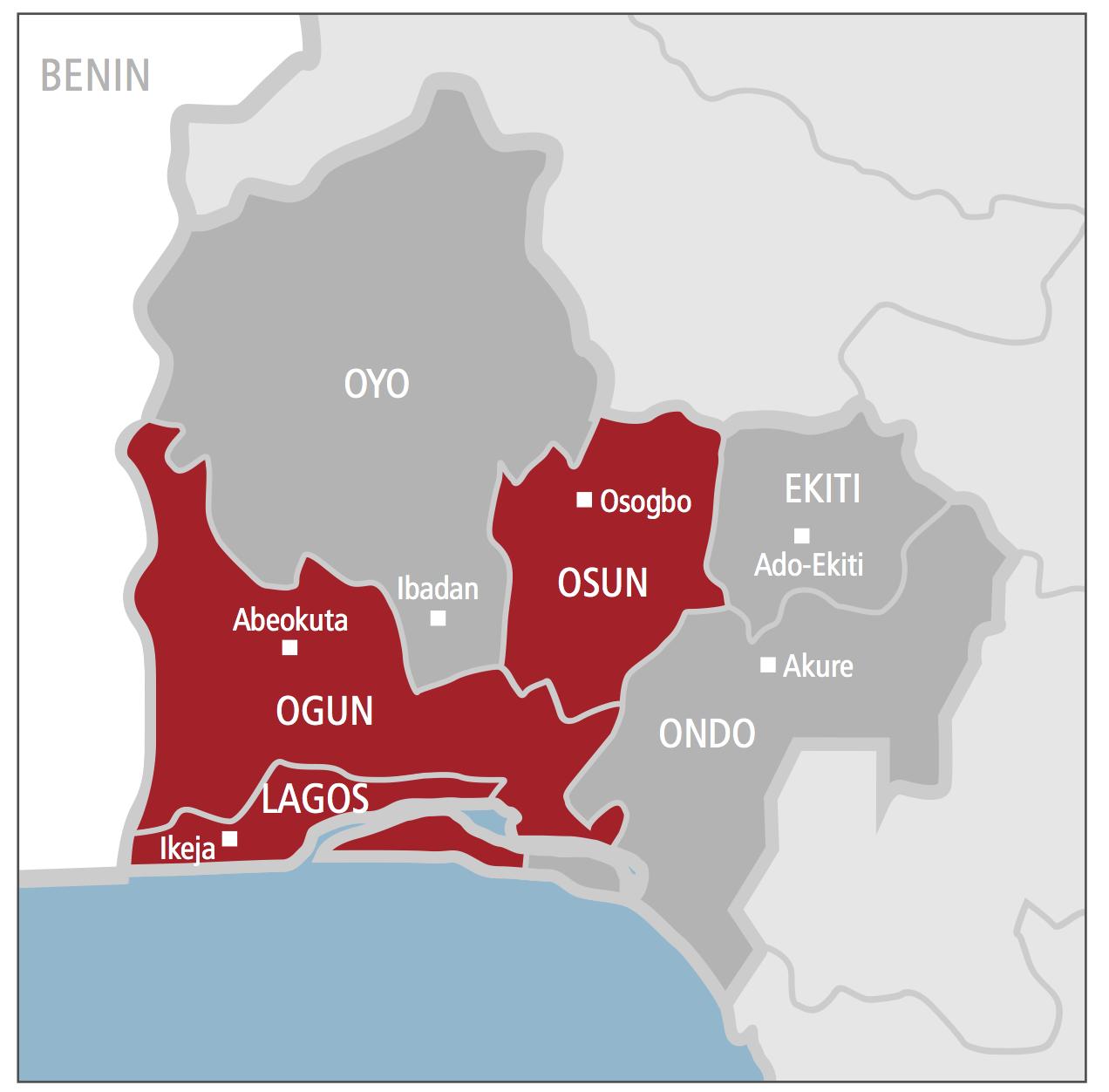 Dating site in nigeria ibadan map