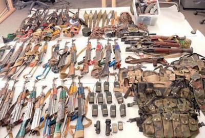 insurgent weapons